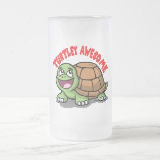 Turtley fantastisch mattglas bierglas
