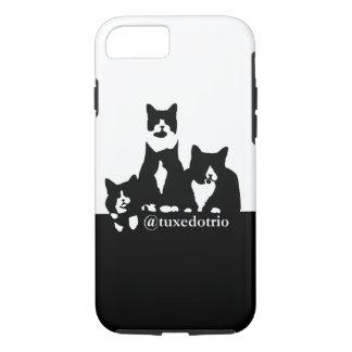 TuxedoTrio Handy-Fall iPhone 8/7 Hülle