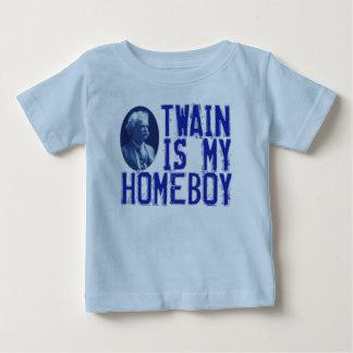 Twain ist mein Homeboy Baby T-shirt