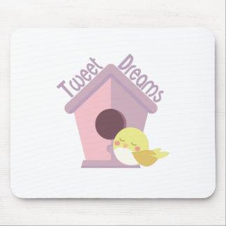 Tweeten Träume Mousepads