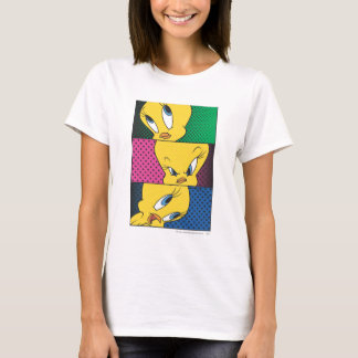 Tweety Comic-Platten T-Shirt