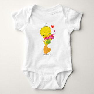 Tweety Herzen Baby Strampler