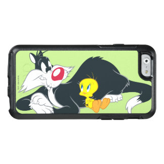 Tweety in Aktions-Pose 14 OtterBox iPhone 6/6s Hülle