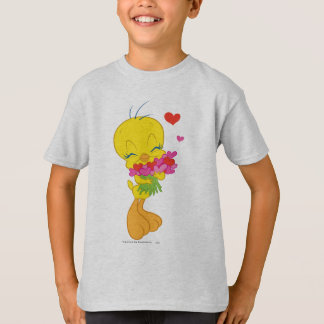 TWEETY™ Valentinsgruß-Herzen T-Shirt