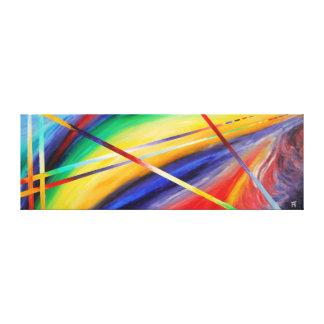 Twighlight der Götter - abstrakte Malerei Leinwanddrucke