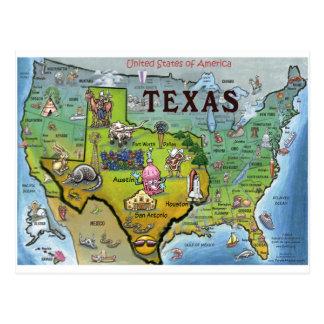 TX USA Karte