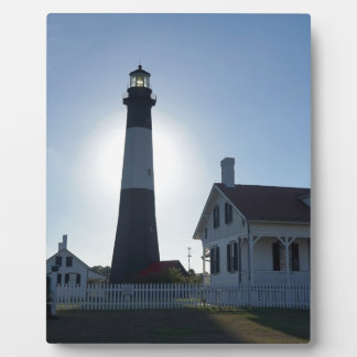 Tybee Leuchtturm Fotoplatte