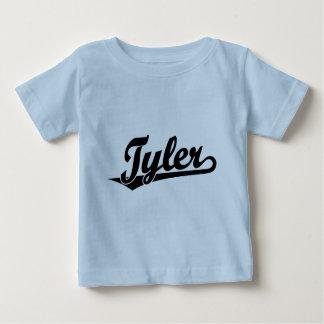 Tyler Skriptlogo im Schwarzen Baby T-shirt