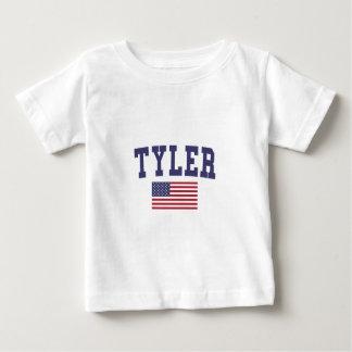 Tyler US Flagge Baby T-shirt
