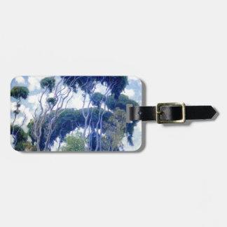 Typ-Rose - Laguna-Eukalyptus - Kunst-Meisterwerk Gepäckanhänger