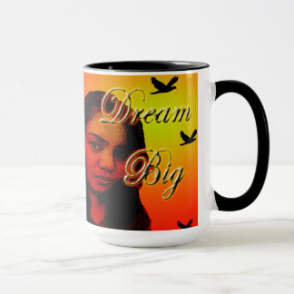 Typografie-Plakat-Entwurfs-Kaffee-Tasse Tasse