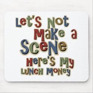Tyrann-Mittagessen-Geld lustig Mauspads