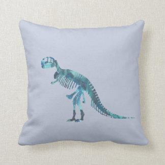Tyrannosaurus rex Skelettkunst Kissen