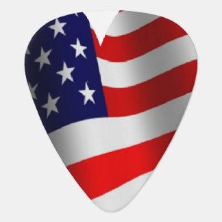 U.S. Flagge Plektrum