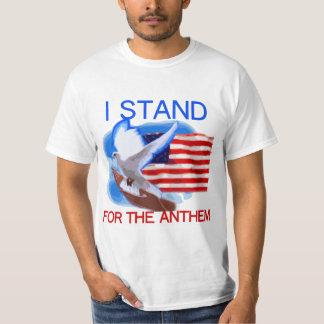 U.S. Flagge und Taube, die ich für die Hymne stehe T-Shirt
