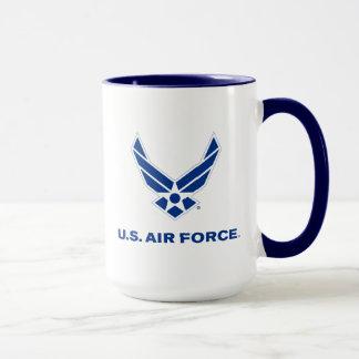 U.S. Luftwaffen-Logo - Blau Tasse