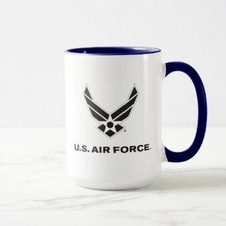 U.S. Luftwaffen-Logo - Schwarzes Tasse