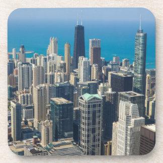 Über Chicago Getränkeuntersetzer