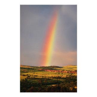 Über dem Regenbogen Briefpapier