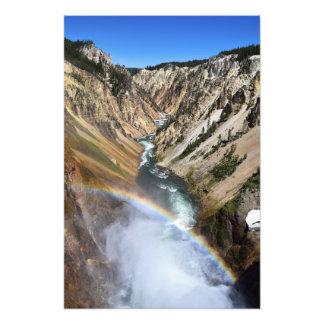 Über dem Regenbogen Fotodruck
