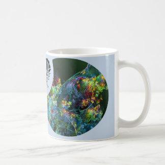 Überfluss-Fraktal-Schmetterling Tasse