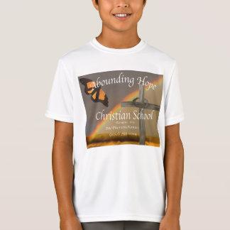 Überfluss habendes Hoffnungs-Römer-15:13 T-Shirt
