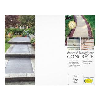 Überlagerung u. Wiederherstellungs-Broschüre 21,6 X 27,9 Cm Flyer