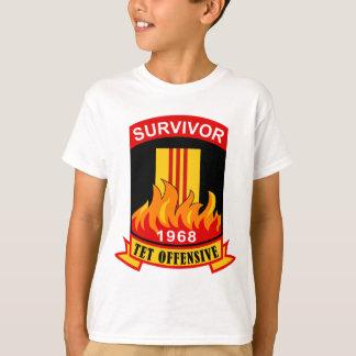 Überlebender - Tet Offensive - 1968 T-Shirt