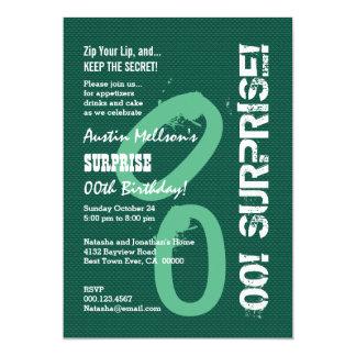 ÜBERRASCHEN Sie jede mögliche 12,7 X 17,8 Cm Einladungskarte