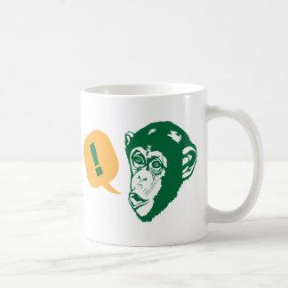 Überraschungs-Schimpanse Tasse