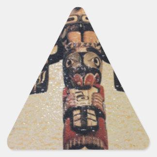 Übertragung des Totem-I Dreieckiger Aufkleber