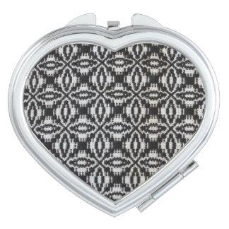 Übertriebener spinnender kompakter Spiegel Taschenspiegel