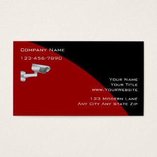 Überwachungs-Sicherheits-Visitenkarten Visitenkarten