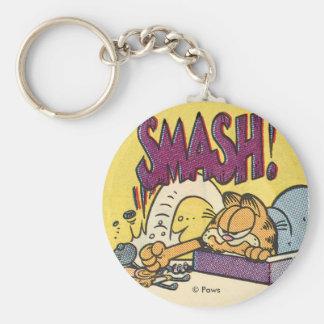 Überwältigende Uhr Garfields, keychain Schlüsselanhänger