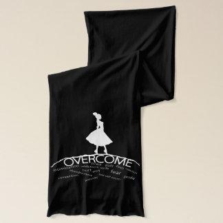 Überwinden Sie Unterzeichnungs-Schal Schal