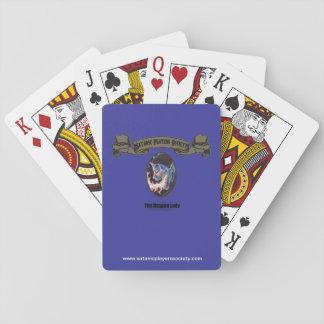 Überziehschutzanlagen-Drache-Dame Spielkarten