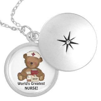 Überzogene Halskette der Krankenschwester der Welt