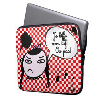 Überzug ich kiffe meine Arbeit… oder nicht Laptop Sleeve Schutzhüllen