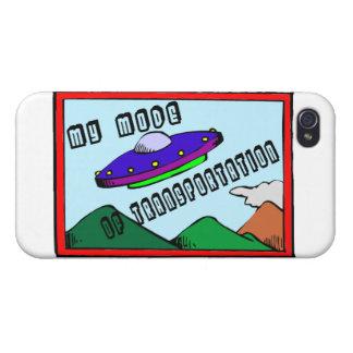 UFO ist mein Modus des Transportes iPhone 4/4S Case