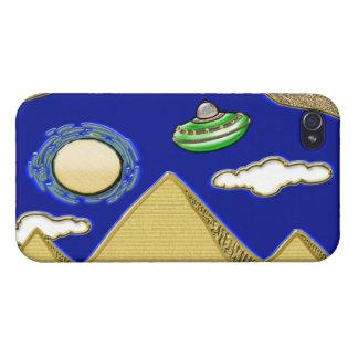 UFO über Ägypten iPhone 4 Schutzhülle