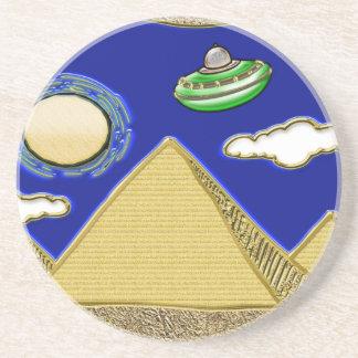 UFO über Ägypten Untersetzer