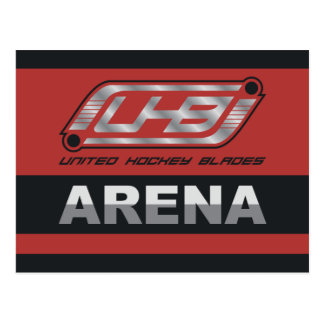 UHB Arena-Logo Postkarte