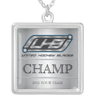 UHB Champion Versilberte Kette