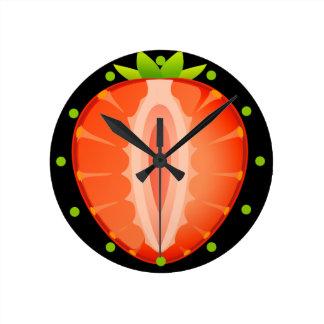 Uhr der Erdbeere
