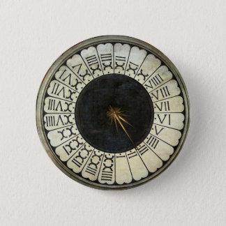 Uhr im Duomo durch Paolo Uccello Runder Button 5,7 Cm