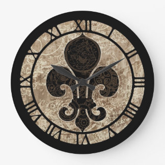 Uhrwerk-Lilie Uhr