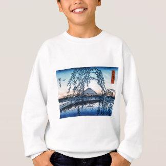 Ukiyo-e der Fujisan Japan Sweatshirt