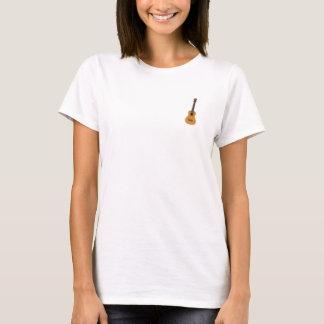 Ukulele-und Rauten-Shirt T-Shirt