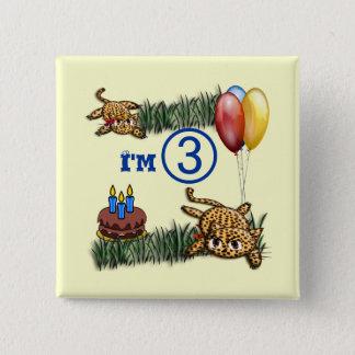 Ultra niedlicher quadratischer button 5,1 cm