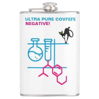 Ultra reines Covfefe. Negativ. Kundengerecht Flachmann